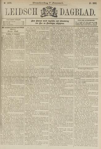 Leidsch Dagblad 1892-01-07