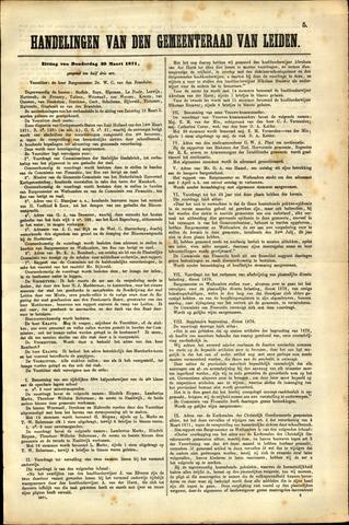 Handelingen van de Raad 1871-03-30