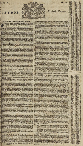 Leydse Courant 1758-10-06