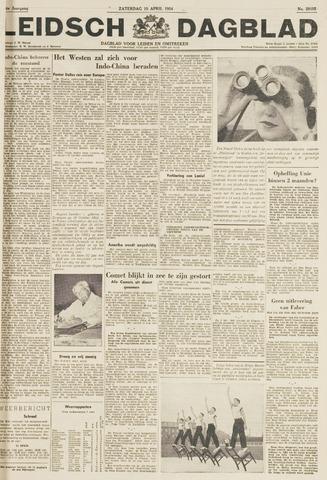 Leidsch Dagblad 1954-04-10
