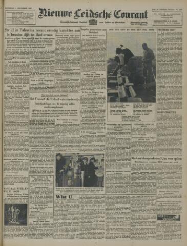 Nieuwe Leidsche Courant 1947-12-06