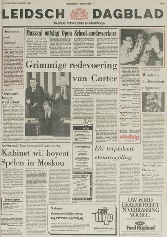 Leidsch Dagblad 1980-01-24