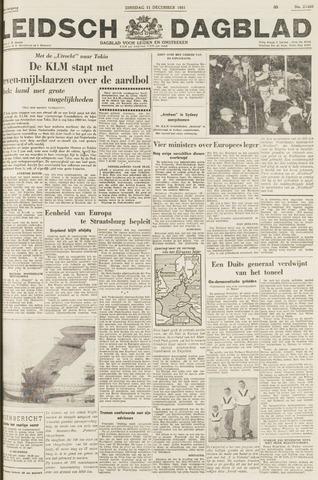 Leidsch Dagblad 1951-12-11