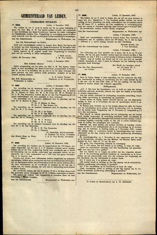 Handelingen van de Raad 1881-12-09