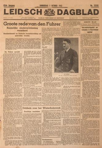 Leidsch Dagblad 1942-10-01