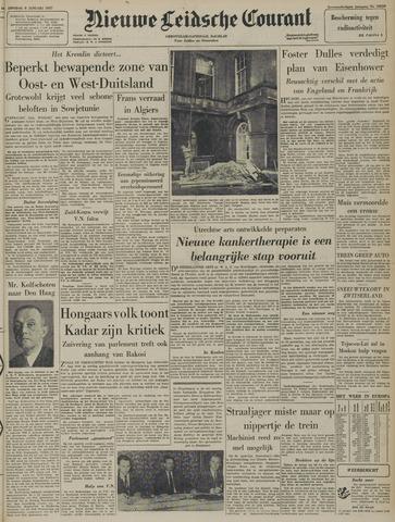 Nieuwe Leidsche Courant 1957-01-08