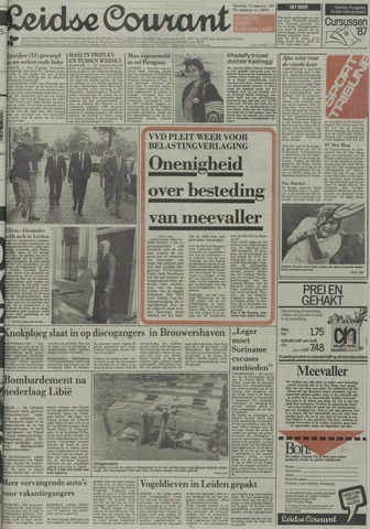 Leidse Courant 1987-08-10