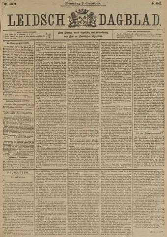 Leidsch Dagblad 1902-10-07