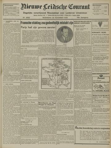 Nieuwe Leidsche Courant 1938-11-30