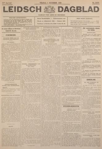 Leidsch Dagblad 1930-11-07