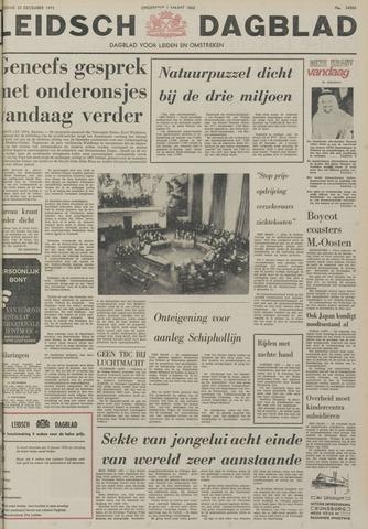 Leidsch Dagblad 1973-12-22