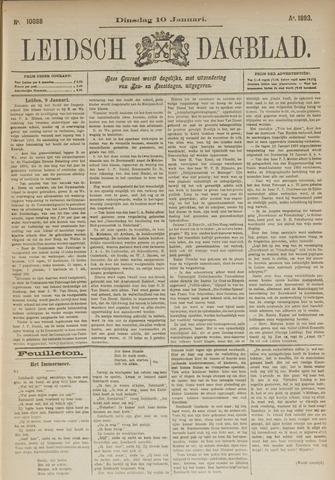 Leidsch Dagblad 1893-01-10