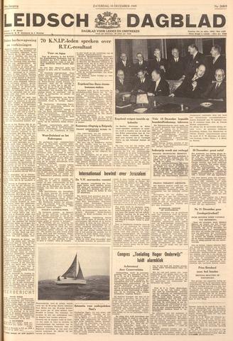 Leidsch Dagblad 1949-12-10
