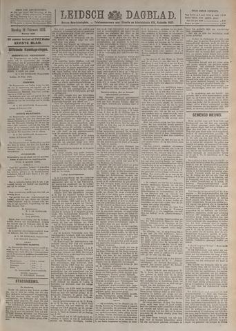 Leidsch Dagblad 1920-02-10