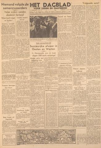 Dagblad voor Leiden en Omstreken 1944-07-22