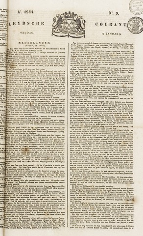Leydse Courant 1844-01-19