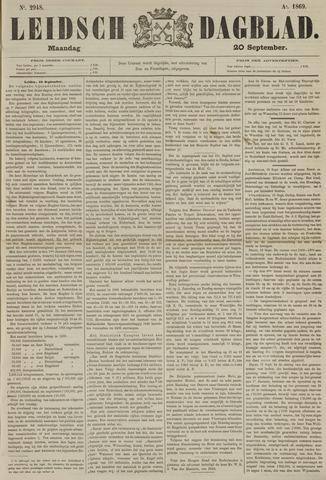 Leidsch Dagblad 1869-09-20
