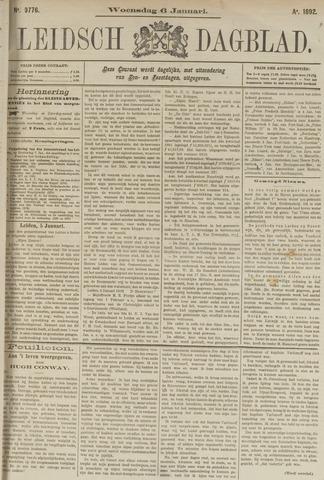 Leidsch Dagblad 1892-01-06
