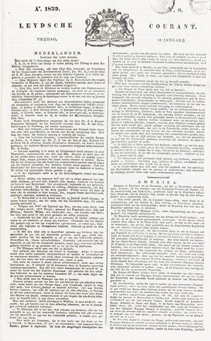 Leydse Courant 1839-01-18