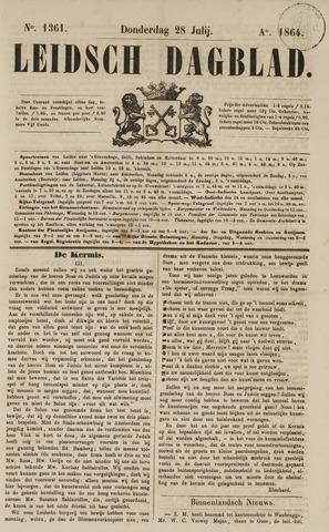 Leidsch Dagblad 1864-07-28