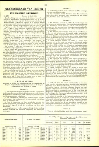 Handelingen van de Raad 1934-07-30