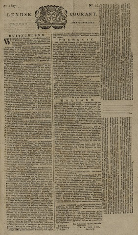 Leydse Courant 1807-02-27