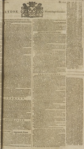 Leydse Courant 1772-10-07