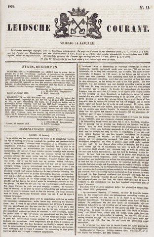 Leydse Courant 1876-01-14
