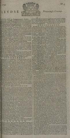Leydse Courant 1739-01-07