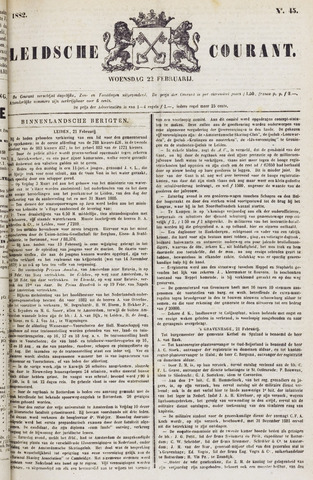 Leydse Courant 1882-02-22