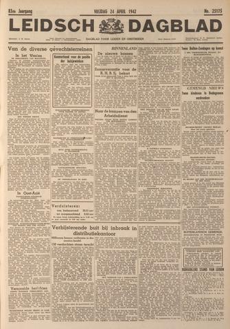 Leidsch Dagblad 1942-04-24