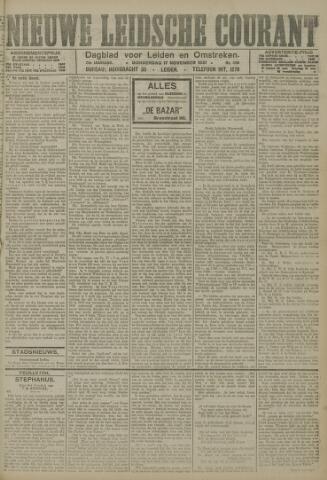 Nieuwe Leidsche Courant 1921-11-17