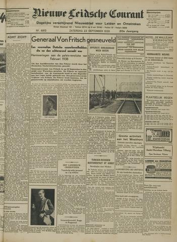 Nieuwe Leidsche Courant 1939-09-23