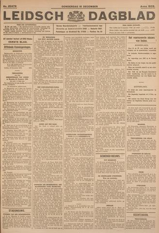 Leidsch Dagblad 1926-12-16