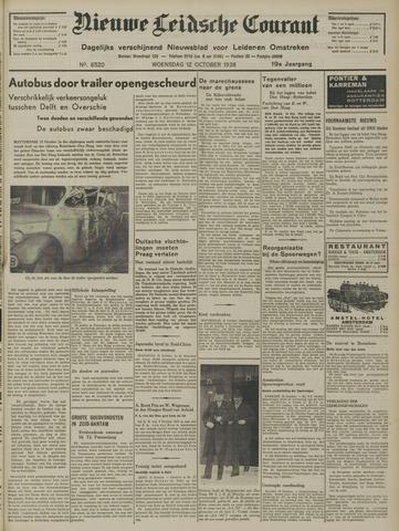 Nieuwe Leidsche Courant 1938-10-12