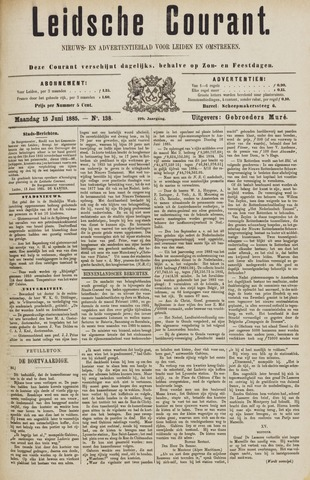 Leydse Courant 1885-06-15