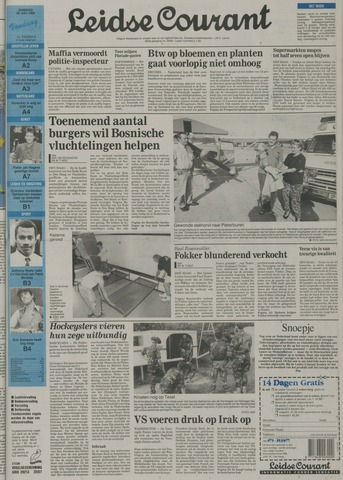 Leidse Courant 1992-07-28