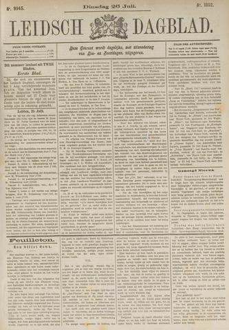Leidsch Dagblad 1892-07-26