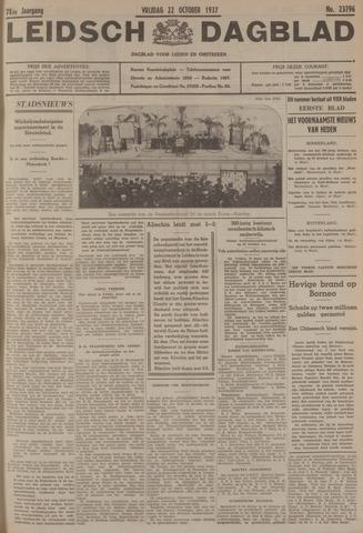 Leidsch Dagblad 1937-10-22