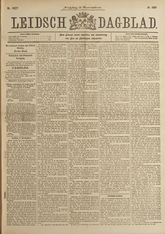 Leidsch Dagblad 1899-11-03