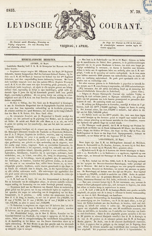 Leydse Courant 1853-04-01