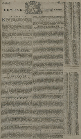 Leydse Courant 1748-04-15