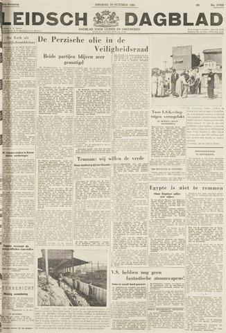 Leidsch Dagblad 1951-10-16