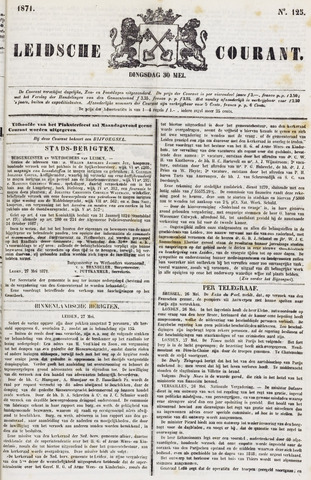 Leydse Courant 1871-05-30