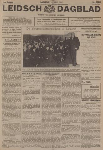 Leidsch Dagblad 1938-04-14