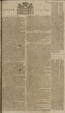 Leydse Courant 1773-10-08