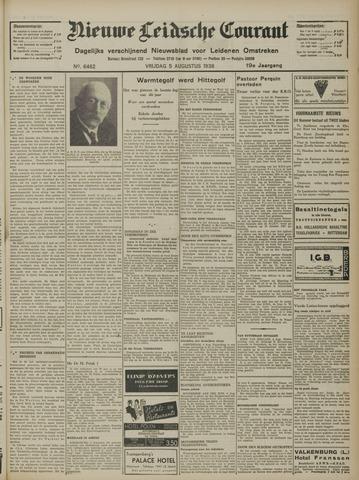 Nieuwe Leidsche Courant 1938-08-05