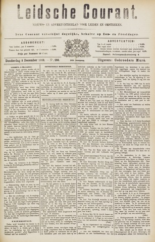 Leydse Courant 1889-12-05