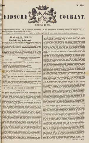 Leydse Courant 1884-05-27