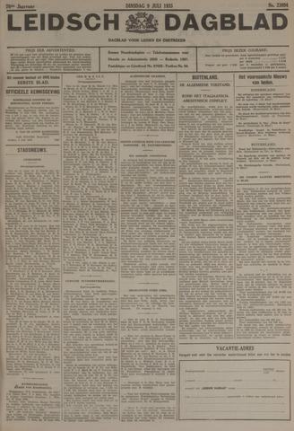Leidsch Dagblad 1935-07-09